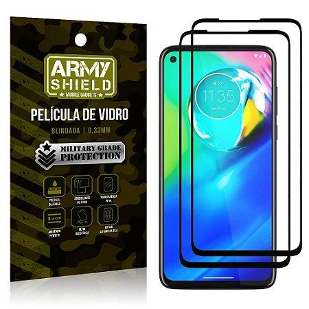Kit 2 Películas de Vidro Blindada 3D Full Cover Moto G8 Power - Armyshield