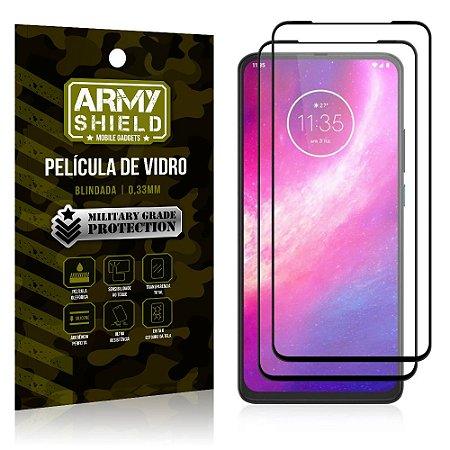 Kit 2 Películas de Vidro Blindada 3D Full Cover Moto One Hyper - Armyshield