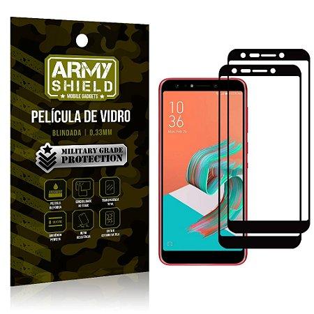 Kit 2 Películas de Vidro Blindada 3D Full Cover Zenfone 5 Selfie ZC600KL - Armyshield