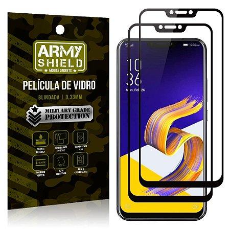 Kit 2 Películas de Vidro Blindada 3D Full Cover Zenfone 5Z ZS620KL - Armyshield