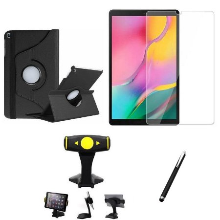 Kit Galaxy Tab A 10.1' T515/T510 Película + Capa Girat + Suporte Mesa + Caneta - Armyshield