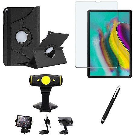 Kit Galaxy Tab S5e 10.5' T725 Película + Capa Girat + Suporte Mesa + Caneta - Armyshield