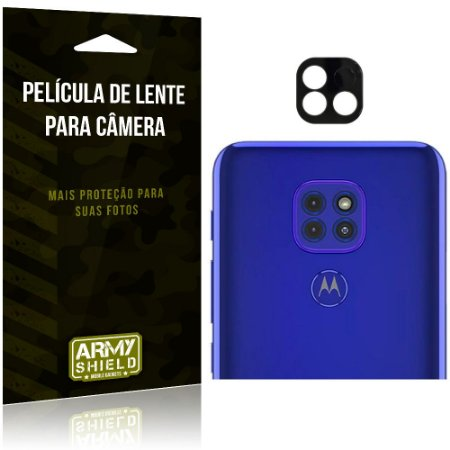 Película de Lente da Câmera Anti Risco Motorola Moto G9 Play - Armyshield