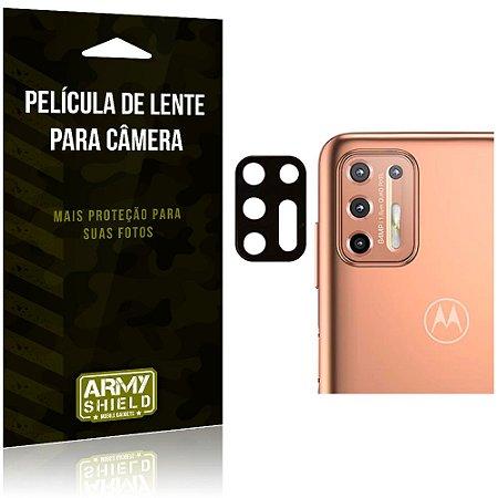 Película de Lente da Câmera Anti Risco Motorola Moto G9 Plus - Armyshield