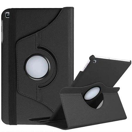 Capa Giratória Preta para Tablet Galaxy Tab A 8.0' T290 T295 - Armyshield