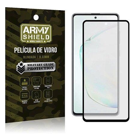 """Película de Vidro 3D para Note 10 Lite 6,7"""" Full Cover - Armyshield"""