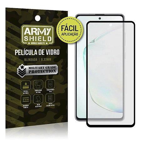 "Película Blindada para Galaxy Note 10 Lite 6,7"" Fácil aplicação - Armyshield"