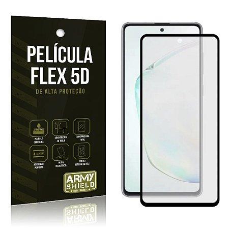 "Película NanoFlex 9D para Galaxy Note 10 Lite 6,7"" Pelicula Indestrutivel - Armyshield"