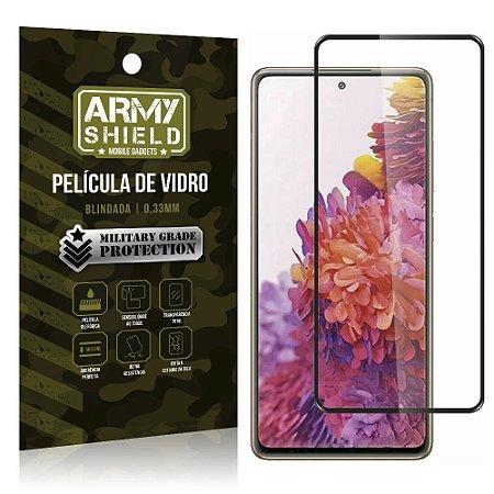 "Película de Vidro Blindada para Galaxy S20 FE tela 6,5"" Full Cover - Armyshield"