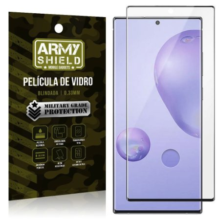 "Película de Vidro Blindada para Galaxy Note 20 Ultra tela 6,9"" Full Cover - Armyshield"