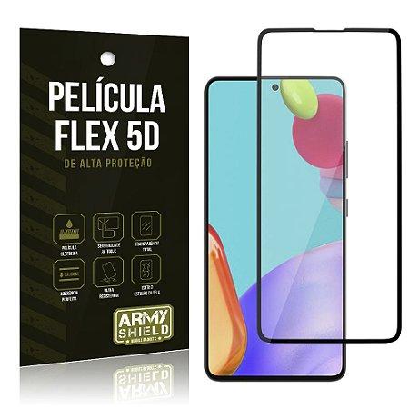 Película Flex 5D Cobre a Tela Toda Blindada Galaxy A52 - Armyshield