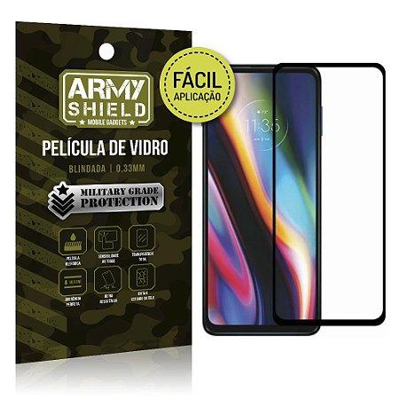 Película de Vidro 3D para Moto G 5G Plus Fácil de aplicação - Armyshield
