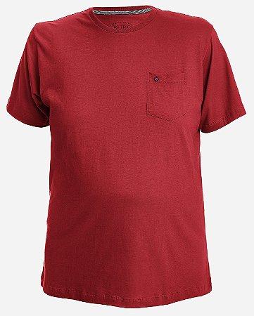 Camiseta Vermelha com Bolso
