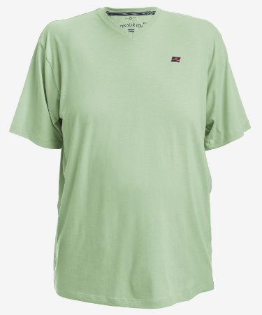 Camiseta Verde Tonsurton - Gola V