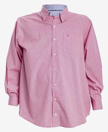 Camisa Manga Longa Xadrez Vermelho