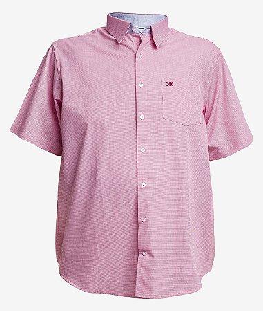 Camisa 3919 Vermelha Manga Curta