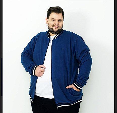 Jaqueta moletom Azul Jeans