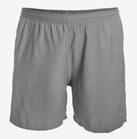 Shorts Tactel Chumbo