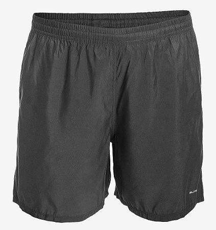 Shorts de Tactel Preto Básico