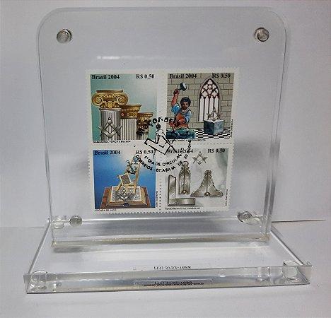 2004 - Maçonaria serie - Peça de acrílico