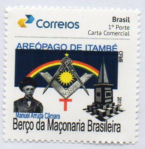 2017 Homenagem ao Areópago de Itambé berço da Maçonaria brasileira e ao maçom Manuel Arruda