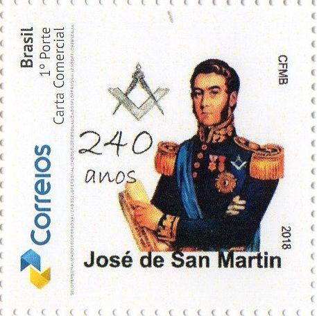 2018 240 anos de nascimento de José de San Martín