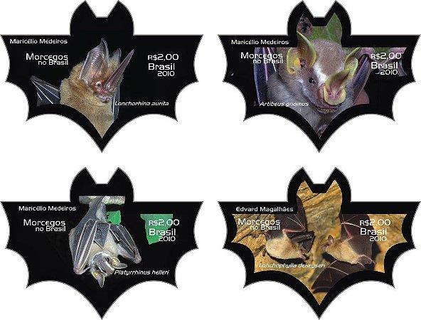 2010 Série Morcegos autoadesivo (mint) novo