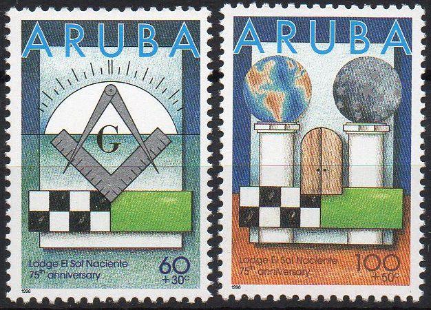 1996 Aruba 75 anos da Loja Solidariedade