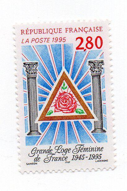 1995 França Grande Loja Feminina 50 anos (mint)