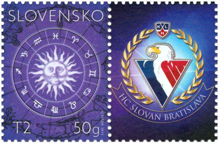 2013 Eslováquia Selo personalizado
