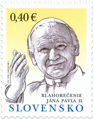 2013 Eslováquia Papa João Paulo II