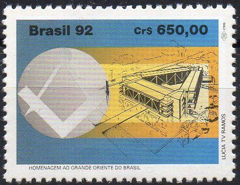 1992 Homenagem ao Grande Oriente do Brasil