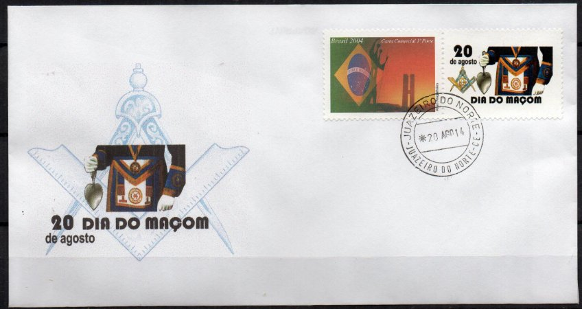 2014 Envelope Dia do Maçom