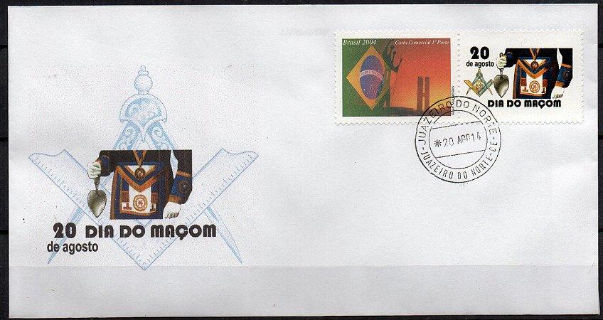 2014 Envelope Dia do Maçom
