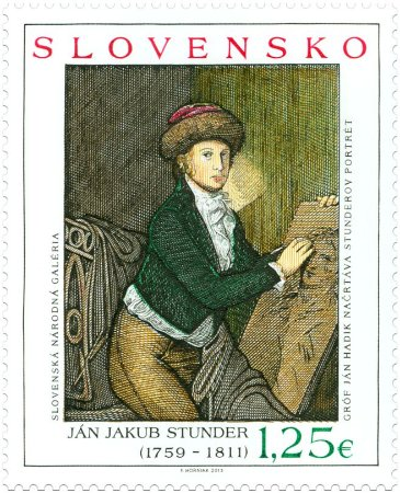 2013 - Eslováquia  Jean Jacques Stunder maçom iluminista