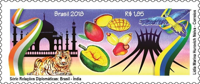 2018 Relações Diplomáticas Brasil e Índia