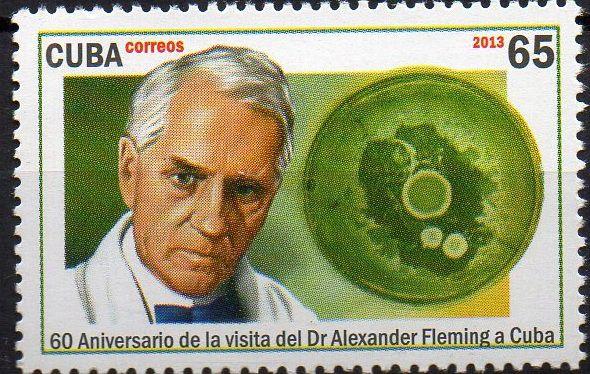 2013 Cuba 60 anos da visita do Dr Fleming (cientista e maçom