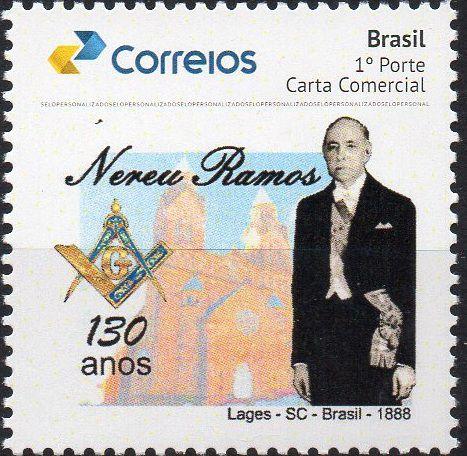 2018 - 130 anos do Maçom e ex presidente Nereu Ramos - SP