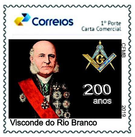 2019 200 anos do Visconde do Rio Branco - SP