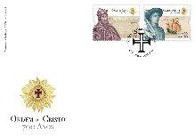 2019 700 anos da Ordem de Cristo - FDC