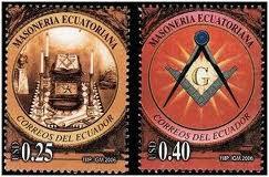 2005 Equador série Maçonaria mint