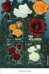 2007 - Bloco Rosas (mint)