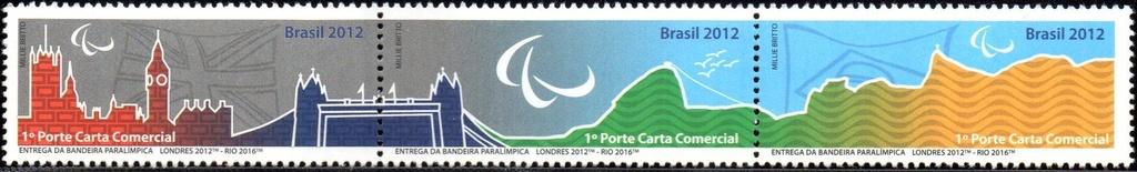2012/2015 Série Entrega da Bandeira Paralímpica (min) Series paralympic flag Delivery
