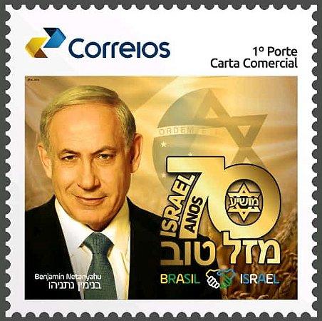 2018 70 anos do Estado de Israel visita de Beijamin Netanyahu