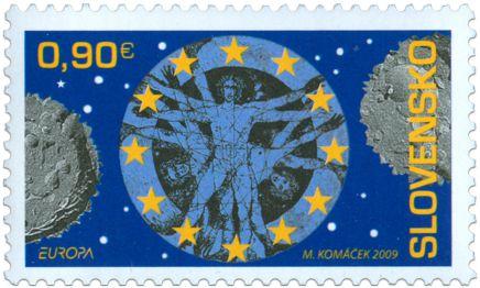 2009 Eslováquia -Europa - Astronomia
