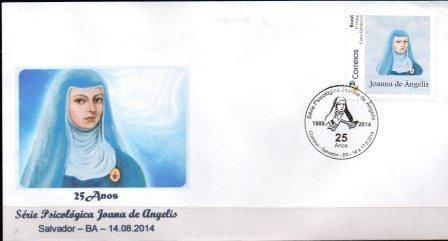 2014 Envelope Personalizado 25 anos da Série Psicológica de Joana de Ângelis