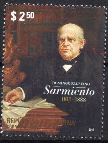 2011 Argentina Domingo Faustino Sarmiento, maçom e ex Presidente