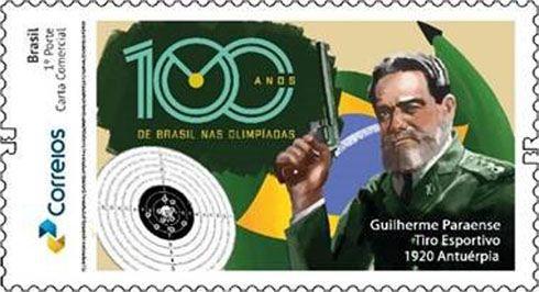 2020 - 100 Anos de Brasil nas Olimpíadas - Guilherme Paraense - Tiro esportivo SP