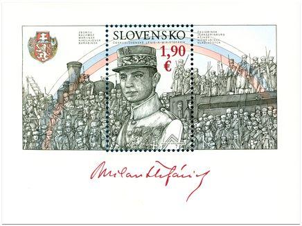 2019 - Eslováquia - Milan Rastislav Štefánik, foi maçom, militar, político, diplomata, astrônomo eslovaco