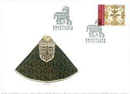2018 Eslováquia - Paramentos Litúrgico - FDC (novo)